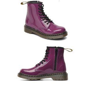 Dr. Martens Delaney Purple Girls Boots size 13